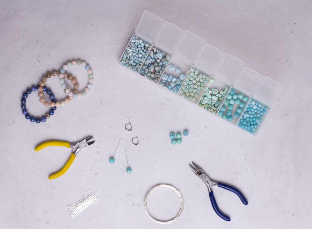 kits, patterns and tools for beading