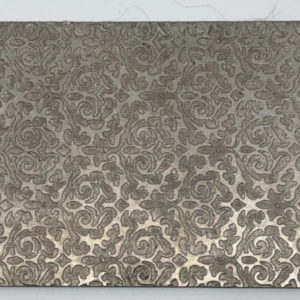 Tapestry Rolling Mill Texture Plate