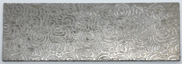 Tahitian Rose Rolling Mill Texture Plate